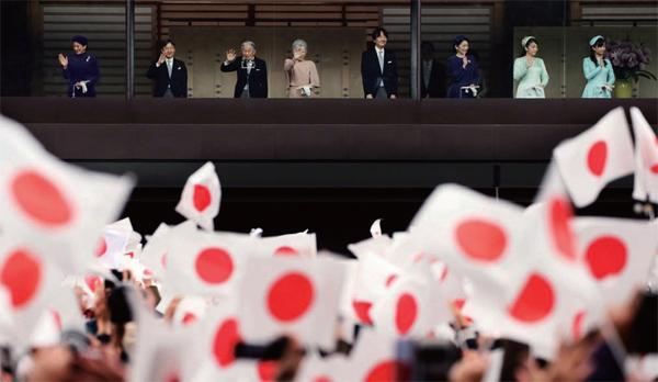 What is the survival of the Japanese emperor system?
