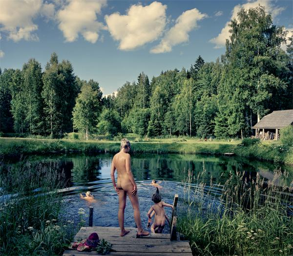 Spend a hot summer with God in the smoke sauna of Estonia