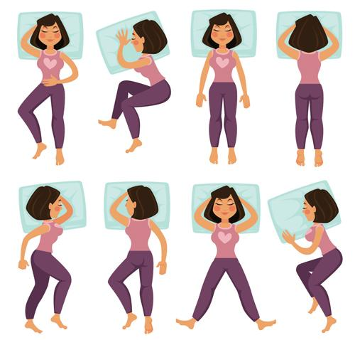 Sleeping posture is also about your health. What kind of sleeping position are you?