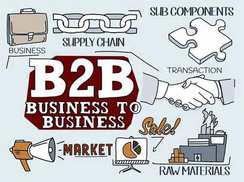 The fast-moving consumer goods B2B