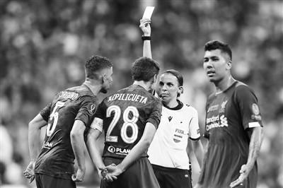 UEFA Super Cup first female referee
