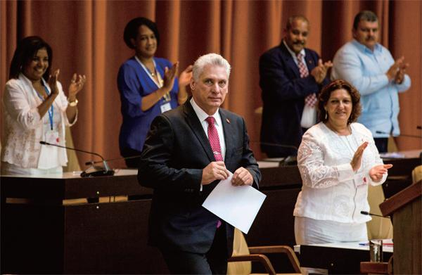 Difficult reform of the new head of state of Cuba