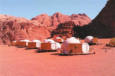 Go to the Jordanian desert for a trip to Mars